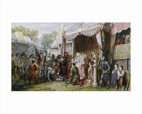 Lancelot Defeats Mador by J.E. Buckley
