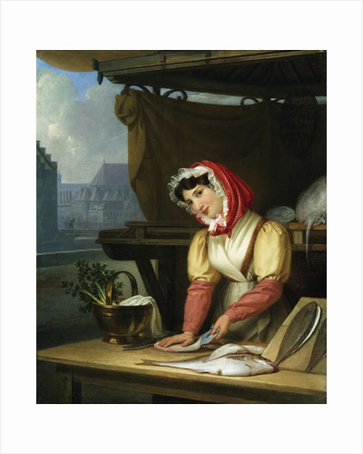 The Fish Seller by Charles Picque