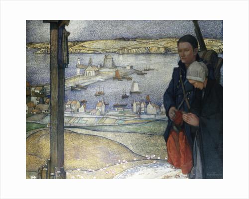 Brittany, France, 1914 by Edward Reginald Frampton