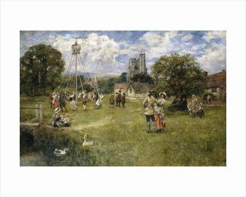 Come Join in the Maypole Dance by Henry John Yeend King