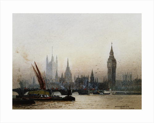 Westminster, London by Fred E.J. Goff