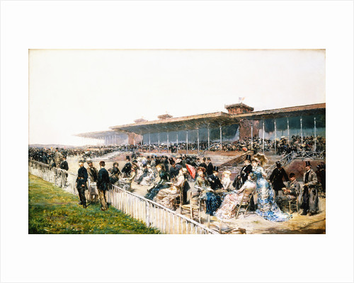 Paris, the Races at Longchamp by Ludovico Marchetti