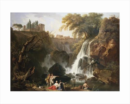 Cascade at Tivoli, Italy by Claude-Joseph Vernet