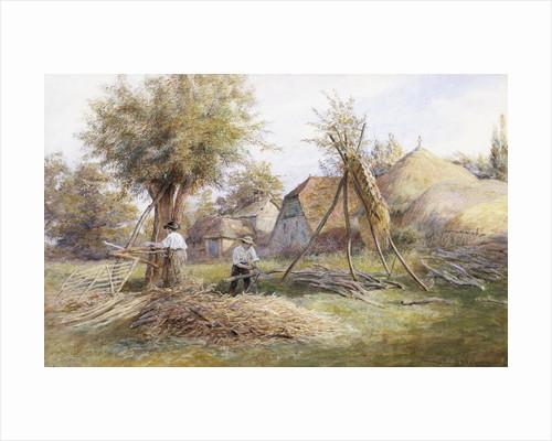 Woodcutting by Wilmot Pilsbury
