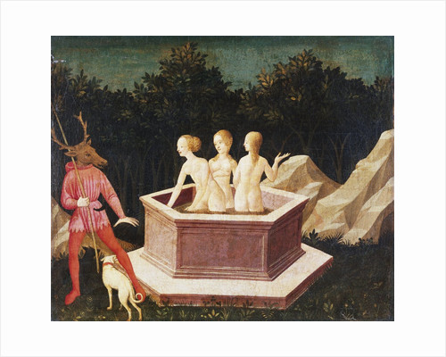 Diana and Actaeon by Domenico Veneziano