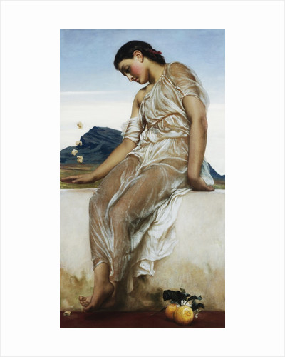 The Knucklebone Player by Frederic Leighton