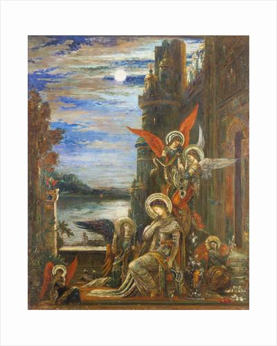 Saint Cecilia by Gustave Moreau