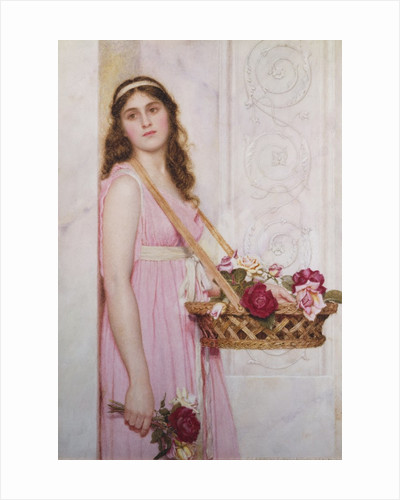 A Basket of Roses by George Lawrence Bulleid
