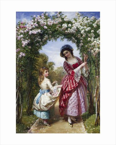 The Rose Bower by Edward John Cobbett