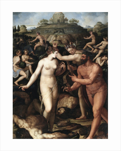 Hercules and the Muses by Alessandro Allori