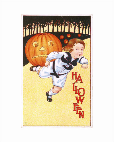 Halloween Postcard by Corbis