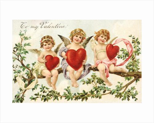 To My Valentine Victorian Valentine by Corbis