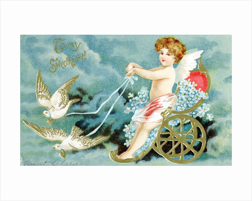 To My Sweetheart Victorian Valentine by Corbis