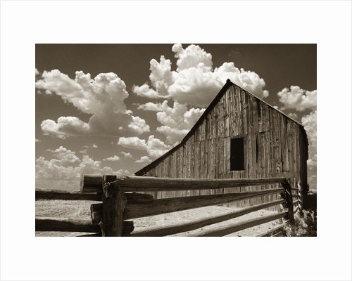 Fence and Barn by Corbis