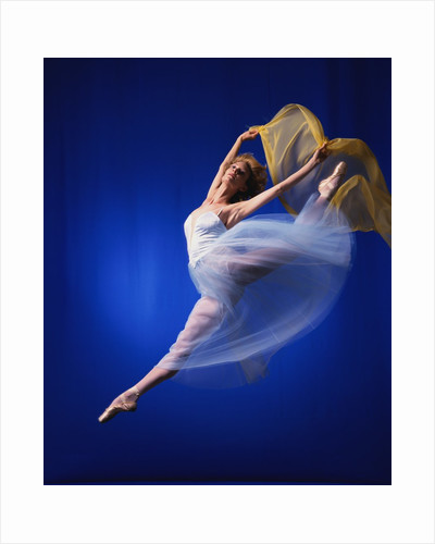 Ballerina Dancing by Corbis