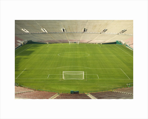Soccer Stadium and Field by Corbis