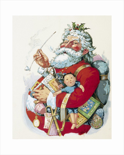 Merry Old Santa Claus by Thomas Nast