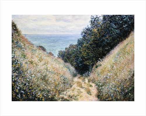 Road at La Cavee, Pourville by Claude Monet