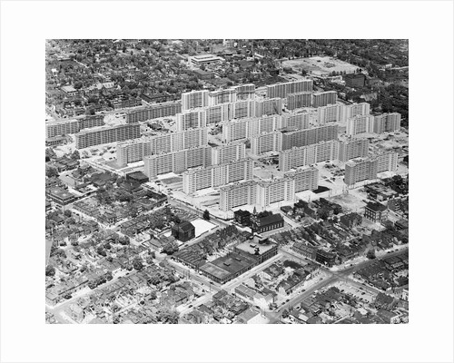 Aerial View of St. Louis Housing Project by Corbis