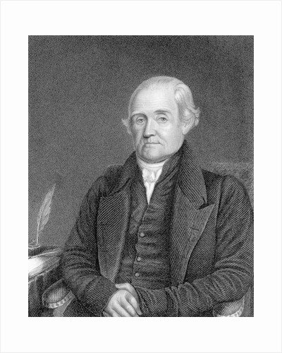 Engraving of Portrait of Noah Webster by Corbis