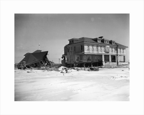 Homes Destroyed by Hurricane by Corbis