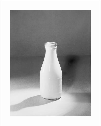 Quart Bottle of Milk by Corbis
