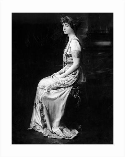 Consuelo Vanderbilt Wearing Formal Gown by Corbis