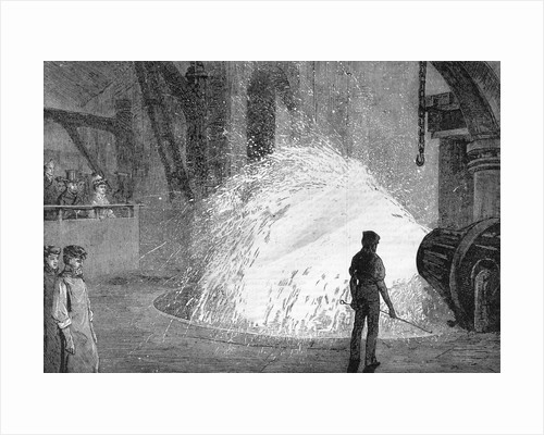 Illustration Of Steel Works Process by Corbis