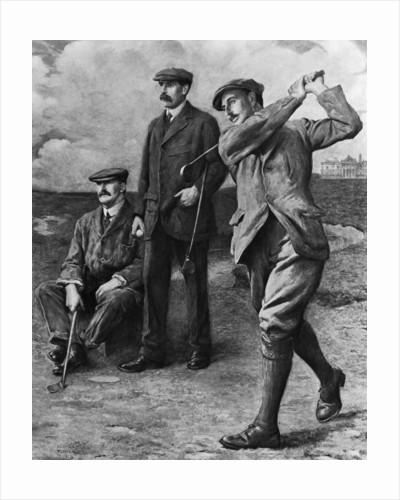 Golf Big Triumvirate by Corbis