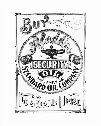 Standard Oil Advertising Poster by Corbis