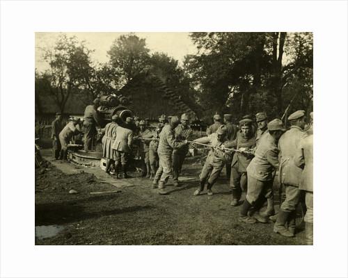 Germans, Austrians Pulling Cannon by Corbis