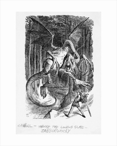Lewis Carroll Book Illustration by Corbis
