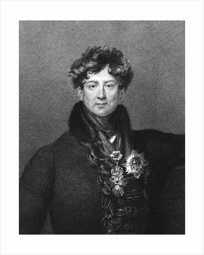 George Iv, King Of England; Engraving by Corbis