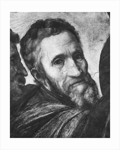 Painting of Michelangelo by Giorgio Vasari