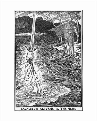Mystic Sword Excalibur by Corbis