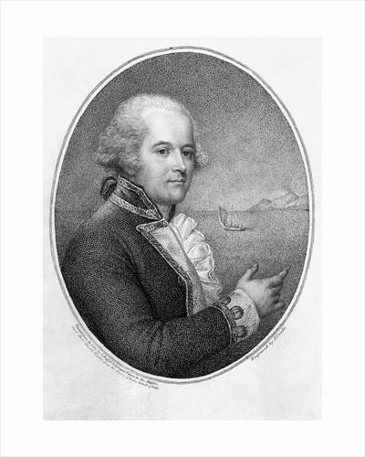 Head and Shoulders Portrait of Captain William Bligh by Corbis