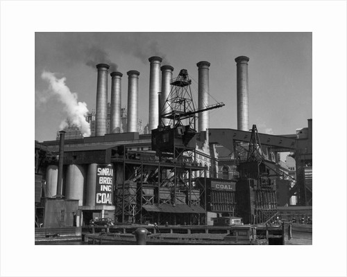 Coal-Fired Power Plant by Corbis