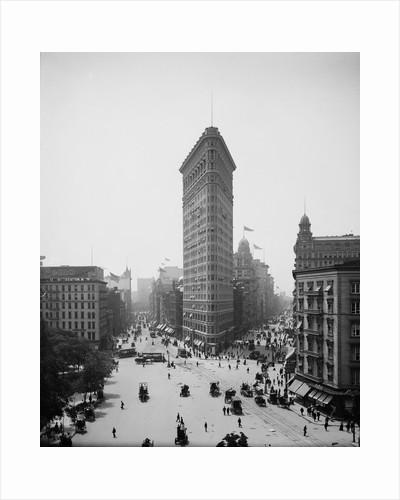 Flatiron Building, 1904 by Corbis