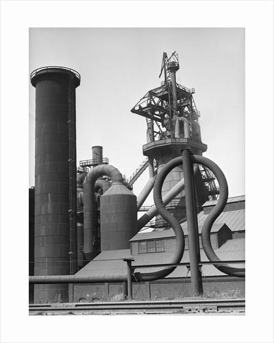 1000-Ton Blastfurnace At Mckinney-Corrig by Corbis