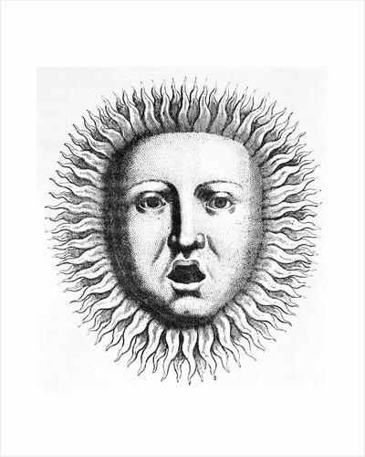 Head Of Appollo W/Solar Rays by Corbis