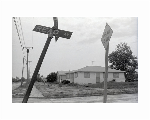 Corner of Read and 97th Street in Love Canal by Corbis