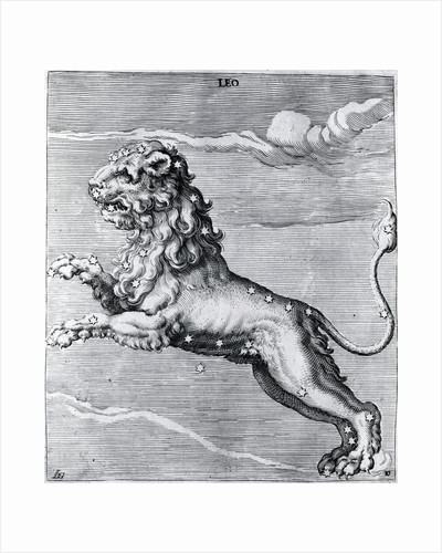 Engraving Of The Lion; Constellation by Corbis