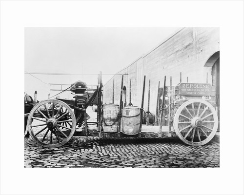 Early Standard Oil Horsedrawn Truck by Corbis