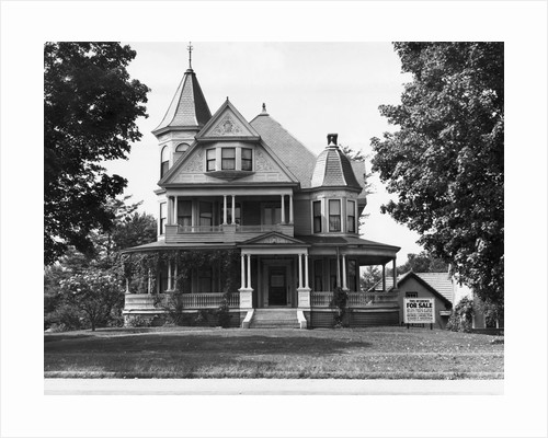 Exterior Of Victorian American Home by Corbis