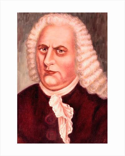 Johannes Sebastian Bach; Painting by Corbis