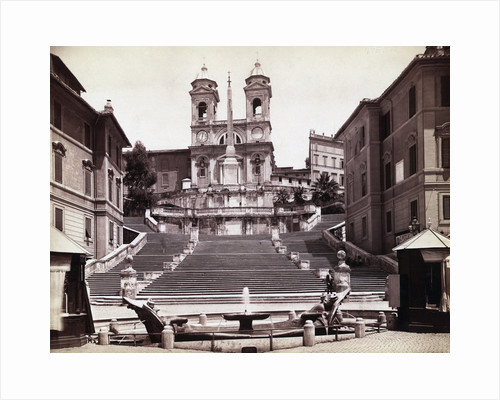 View Of Steps In Piazza Di Spagna by Corbis