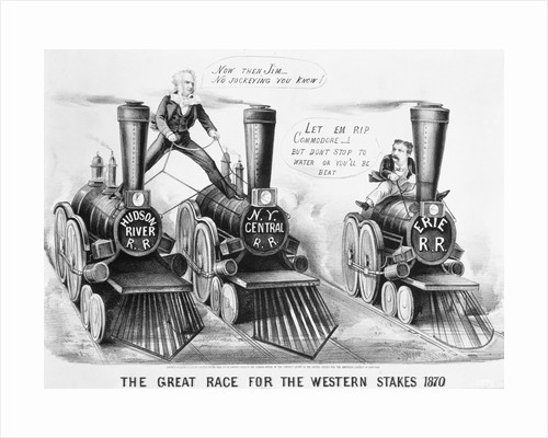Cartoon- Owners Race Rr Engines by Corbis