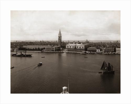 Overview Venice & Harbor by Corbis