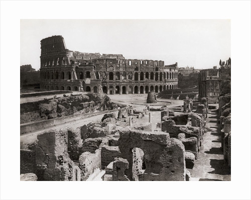 Roman Colosseum and Surrounding Ruins by Corbis