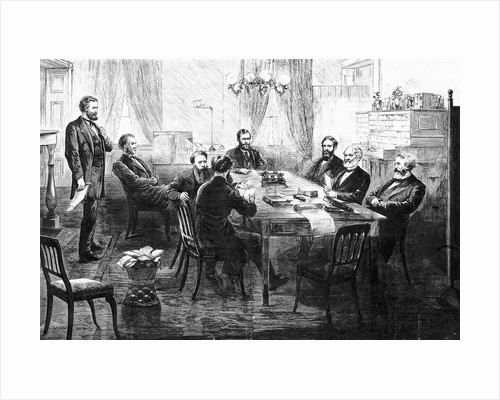 President Grant In Session with His Cabinet by Corbis